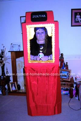 Homemade Zoltar from the movie
