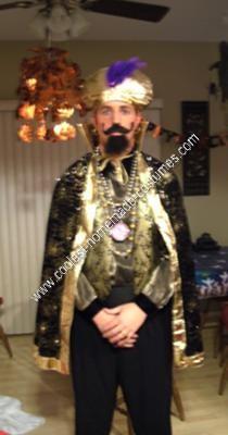 Homemade Zoltar Halloween Costume