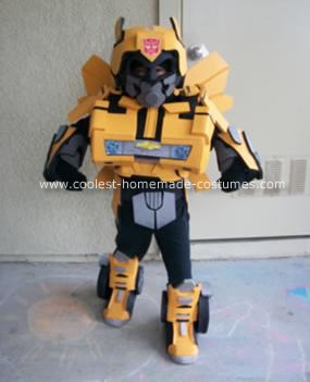 HomemadeTransformer Bumble Bee Costume