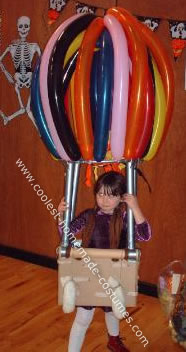 Hotair Balloon Costume