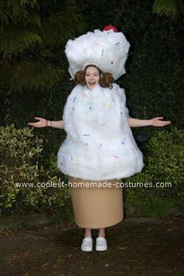 Homemade Ice Cream Halloween Costume