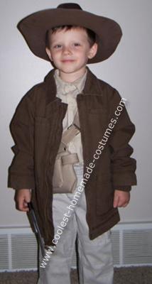 Jarrett in his Indiana Jones Costume