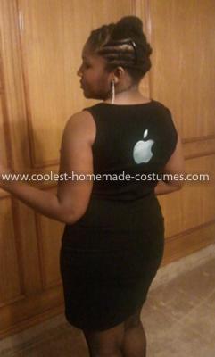 Homemade iPhone Costume