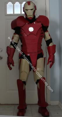 how to make an iron man costume out of foam