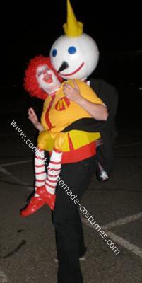 Clown in the Box Halloween Costume