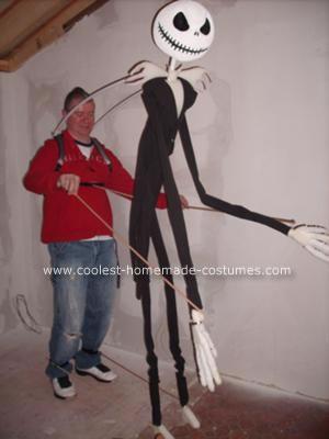 Jack Skellington Nightmare Before Christmas Costume