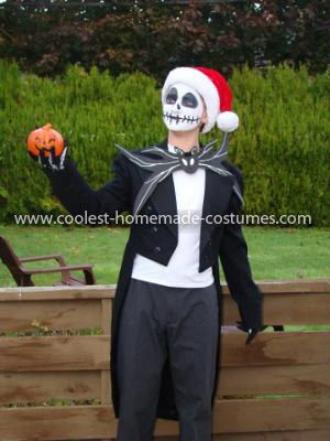 Homemade Jack The Pumpkin King Costume