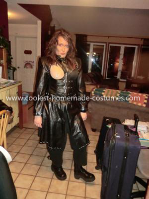 Homemade Janet Jackson Superbowl Costume