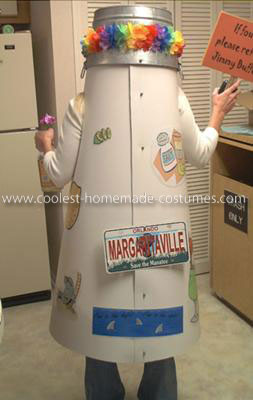 Homemade Jimmy Buffett's Lost Shaker of Salt Costume