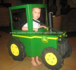 Homemade Birthday Cakes on Coolest John Deere Tractor Halloween Costume 10