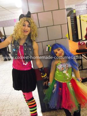 Coolest Katty Perry and Madonna Costume 3