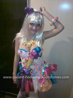 Coolest Katy Perry (California Gurls) Costume 17