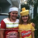 Mustard and Ketchup Costumes