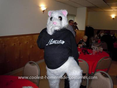 Homemade Kia Hamster Costume