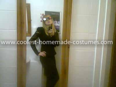 Homemade Killer Lady Gaga Costume