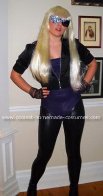 Homemade Lady Gaga Costume