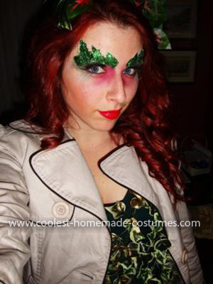 Homemade Last-Minute Poison Ivy Costume