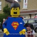 Superman Minifigure Costumes