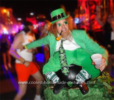 Coolest Leprechaun on a Pot of Gold Illusion Costume