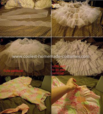 Coolest Lil Bo Peep Costume - Costume construction