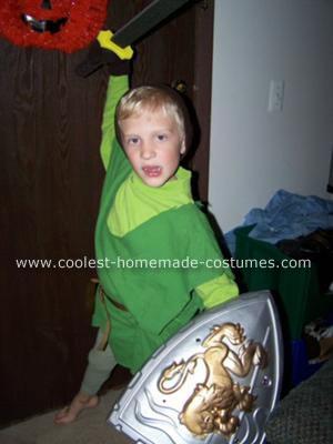 Chris as Link from Legend of Zelda