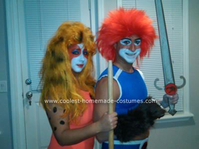 Thunder Cats  on Lion O And Cheetara From Thunder Cats Halloween Couple Costume 4
