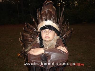 Little Chief Homemade Halloween Costume