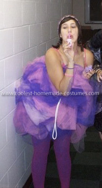 Homemade Loofa Costume