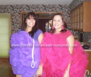 Homemade Loofah Costumes