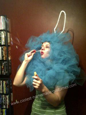 Loofah DIY Halloween Costume