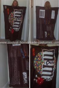 M&M homemade costume