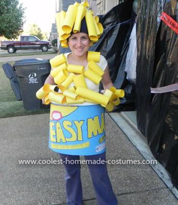 Homemade Mac and Cheese Costume