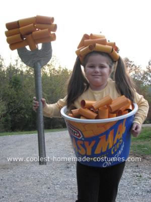 easy mac, halloween costume, easy, no sew, food