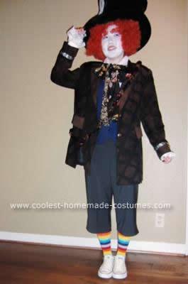 Homemade Mad Hatter DIY Costume