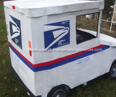 Mailman in Truck