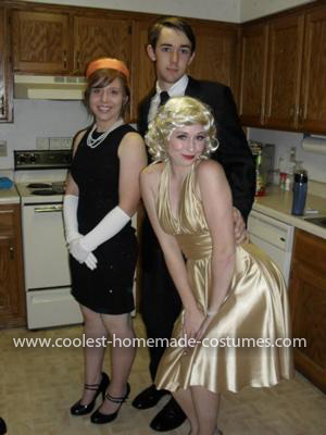 Homemade Marilyn Monroe Love Triangle Group Costumes