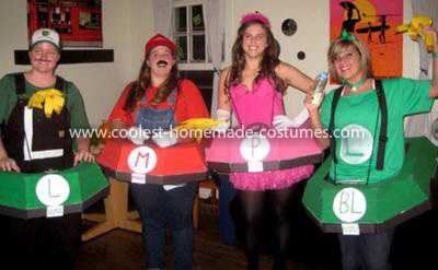 Coolest Mario Kart Group Costume