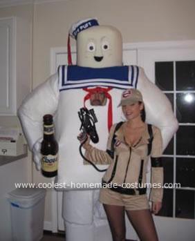 Marshmallow Man Makes Friends