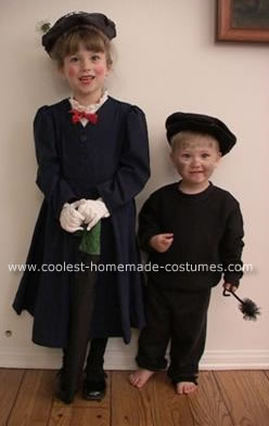 Little Mary Poppins and Bert Costume