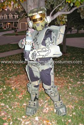 Homemade Master Chief Halo 3 Costume
