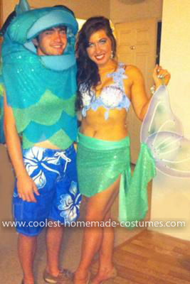 Homemade Mermaid and