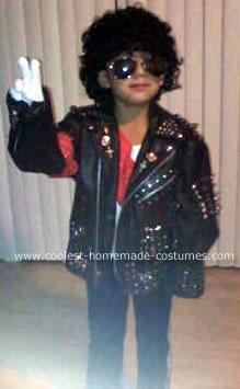Homemae Michael Jackson Costume