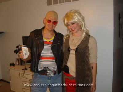 Homemade  Mickey and Mallory Knox from Natural Born Killers Couple Costume