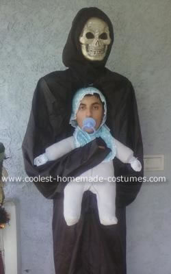 Monster Carrying Baby Costume