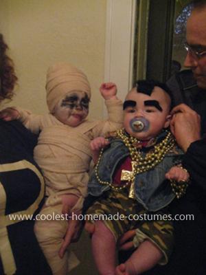 Homemade Mr. T Baby Costume
