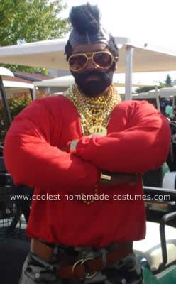 Homemade Mr. T Costume