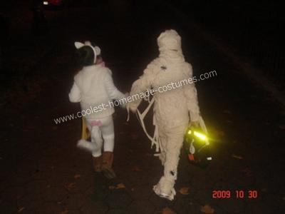 Mummy Costume Idea