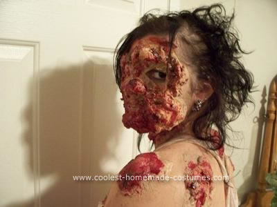 Homemade Mutated Cannibal Unique Halloween Costume Idea