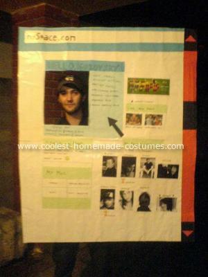 Myspace Costume