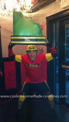 Coolest Nickelodeon Guts Contestant Costume 2